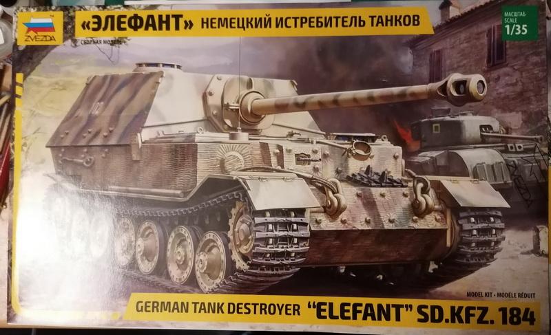 Elefant Sd.Kfz. 184 - 1/35ème - Zvezda Img_2575