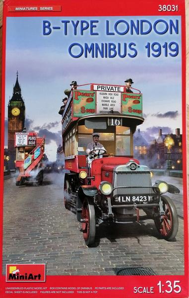 London Omnibus 1919 - 1/35 - MiniArt Img_2926