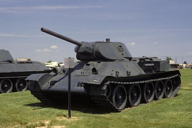 T34/76 au 1/35ème de Tamiya T34-7610