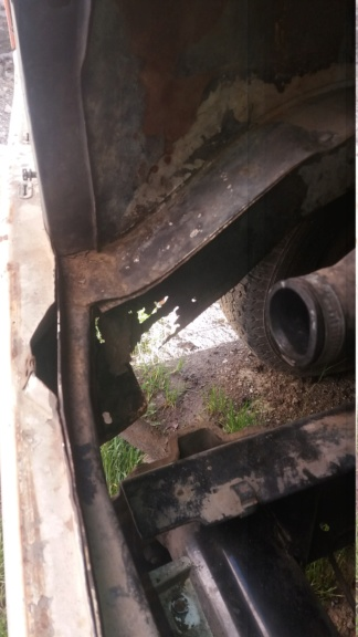 [A0406]restauration ford transit A0406 benne Serie210