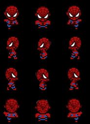 Sprites de personajes Spiderman Spider10