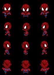 Sprites de personajes Spiderman Spider12
