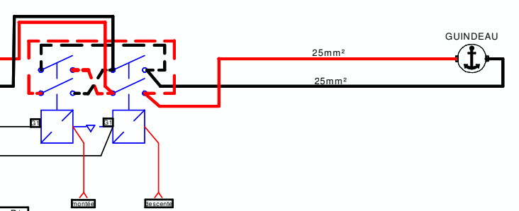 guindeau sans moteur / commande guideau Cattur11