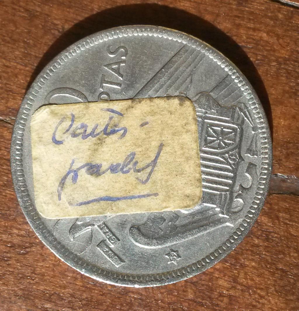 50 pesetas de 1957 (*59). Estado Español....y un minimisterio Cara_212