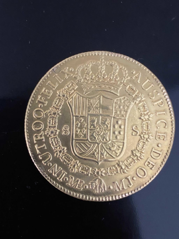 8 escudos Carlos III 1777 Img_0111