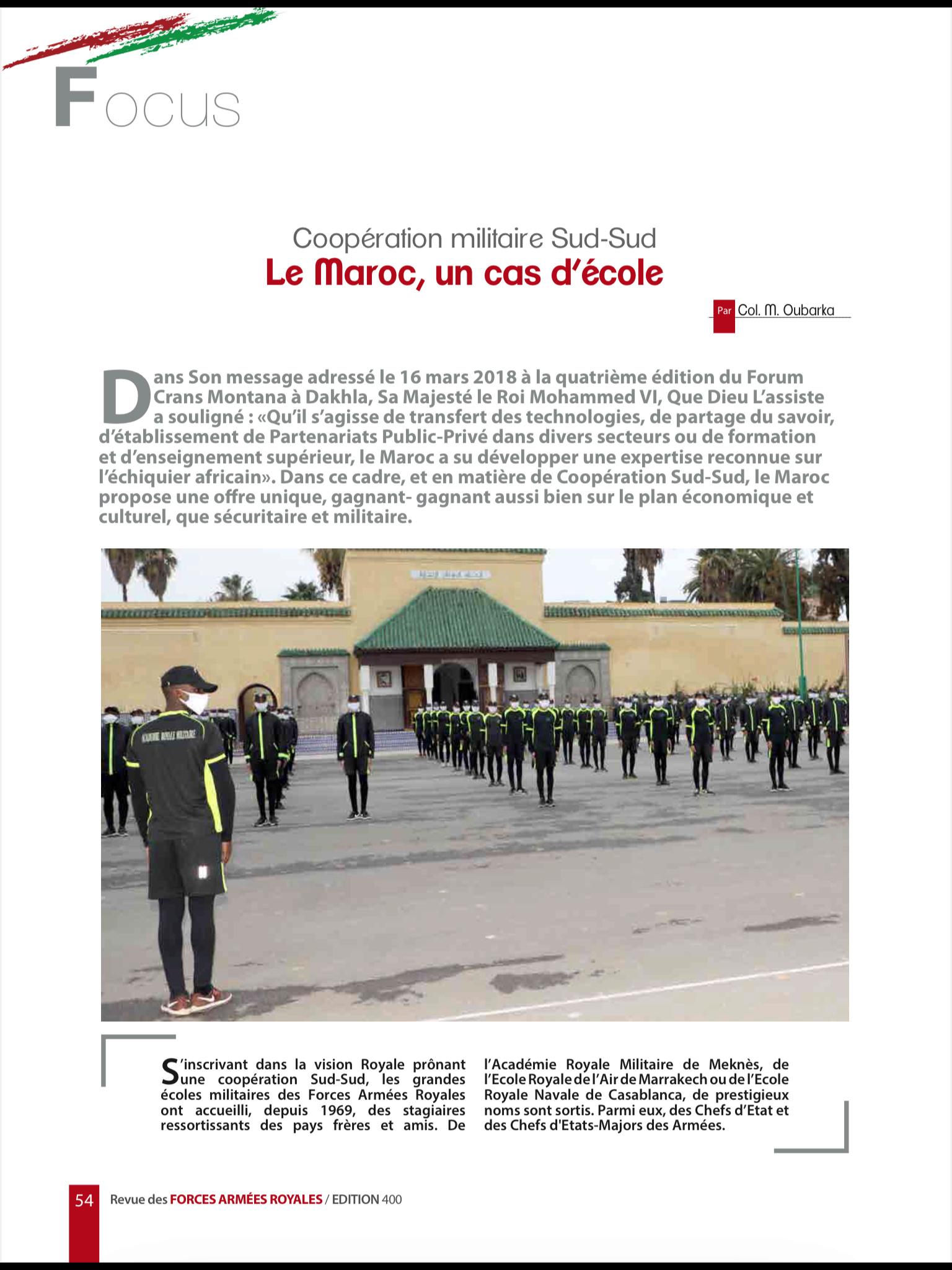 Les FAR ... école pour les armées africaines ! - Page 3 23669310