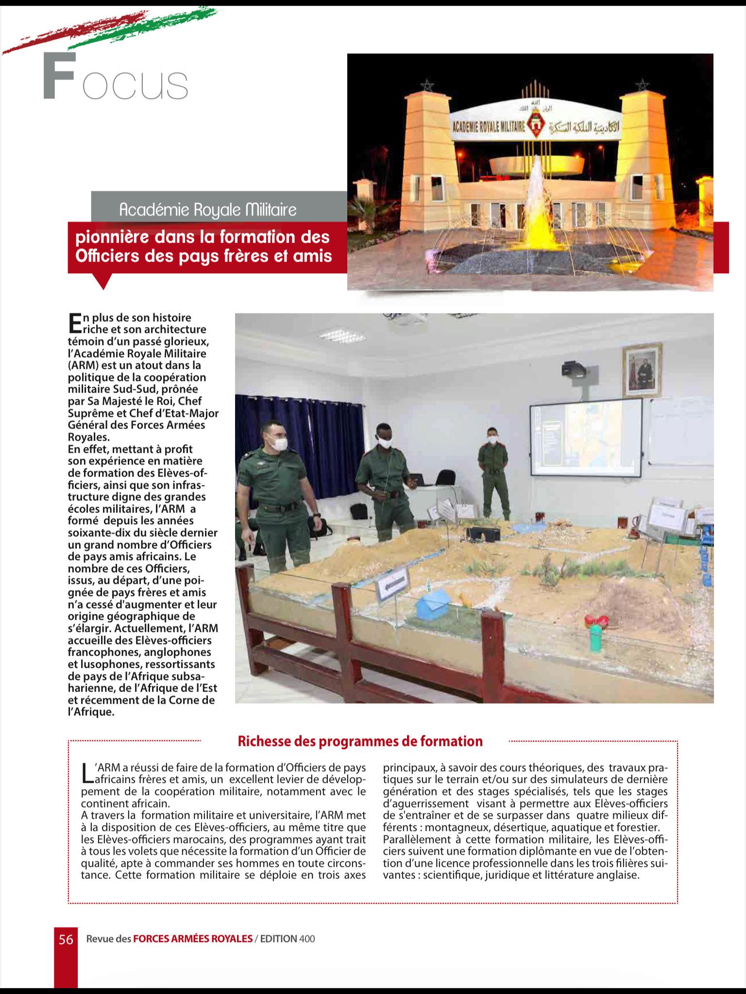 Les FAR ... école pour les armées africaines ! - Page 3 45ce3610