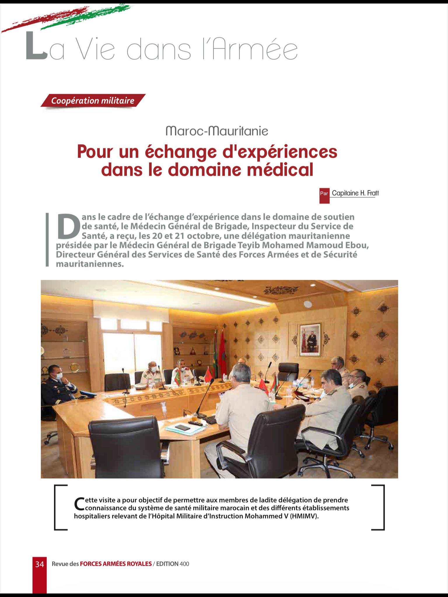 Coopération Militaire Maroc-Mauritanie 9fe51610