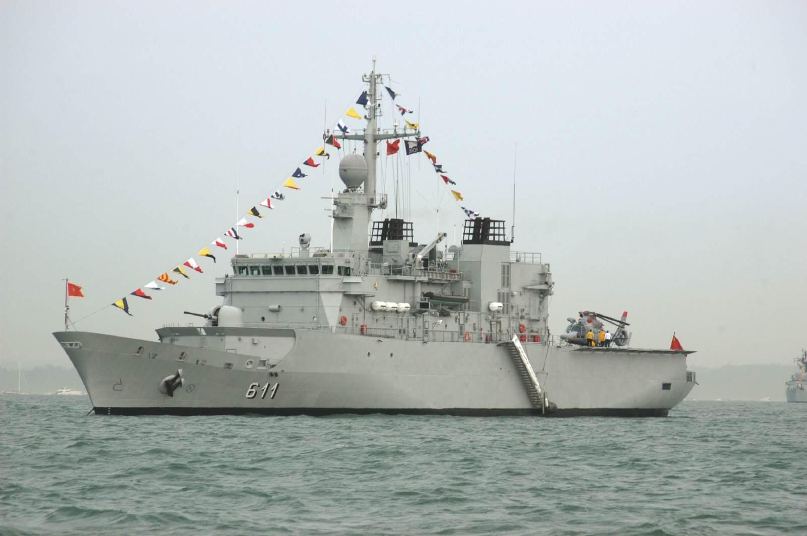 Royal Moroccan Navy Floréal Frigates / Frégates Floréal Marocaines - Page 15 Morocc11