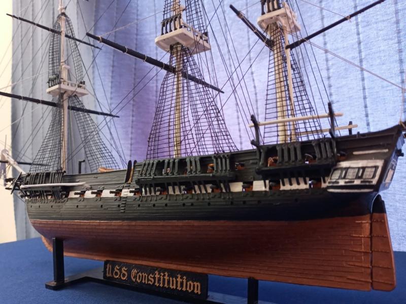 Fregate USS Constitution (Revell ~1/150°) par mcpleiades 20210511