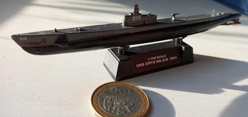USS Gato, Doyusha, 1/700 20210525