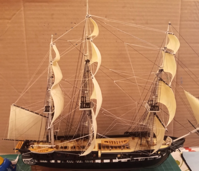 Frégate USS Constitution (Revell ~1/150°) de mcpleiades - Page 3 Img_2013