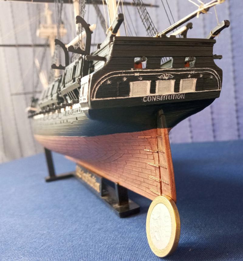 Fregate USS Constitution (Revell ~1/150°) par mcpleiades Poupe_11