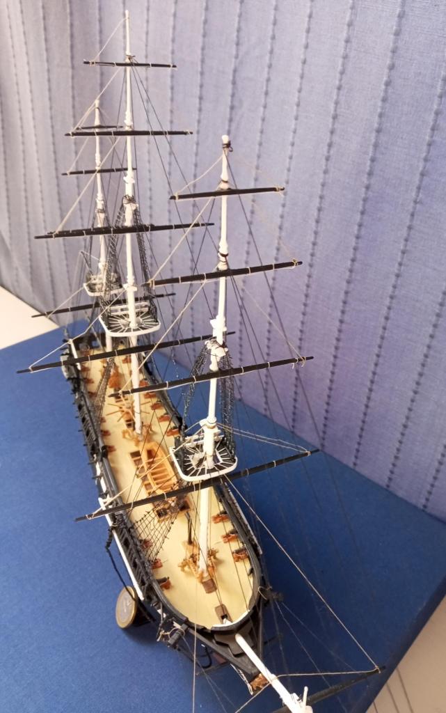 Fregate USS Constitution (Revell ~1/150°) par mcpleiades Vue_de10