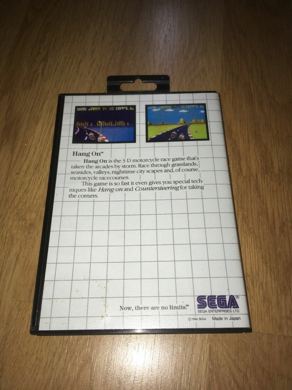 [VDS] HANG-ON The Sega Card Master System complet en boîte et notice 01hang10