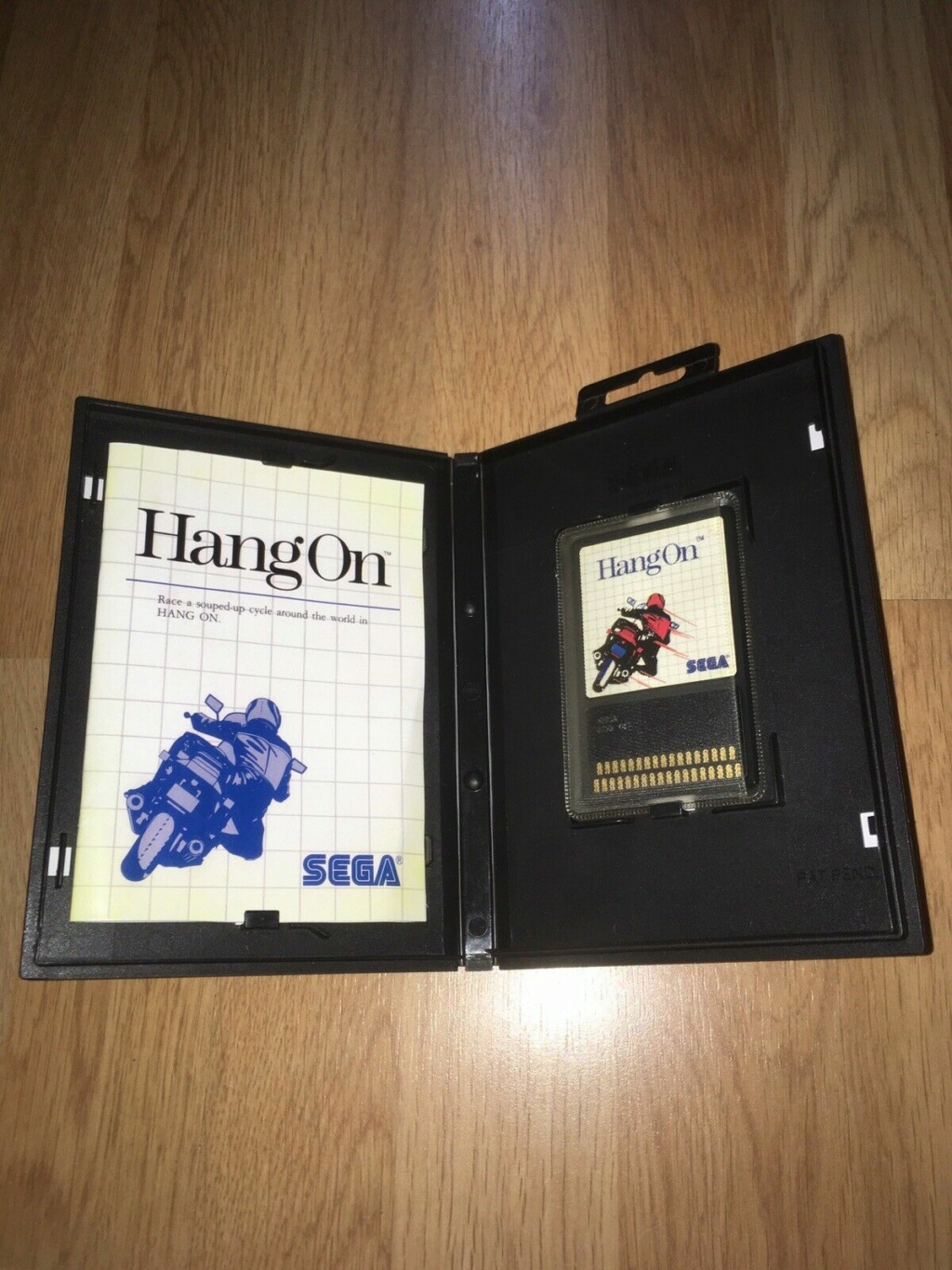 [VDS] HANG-ON The Sega Card Master System complet en boîte et notice 02hang10