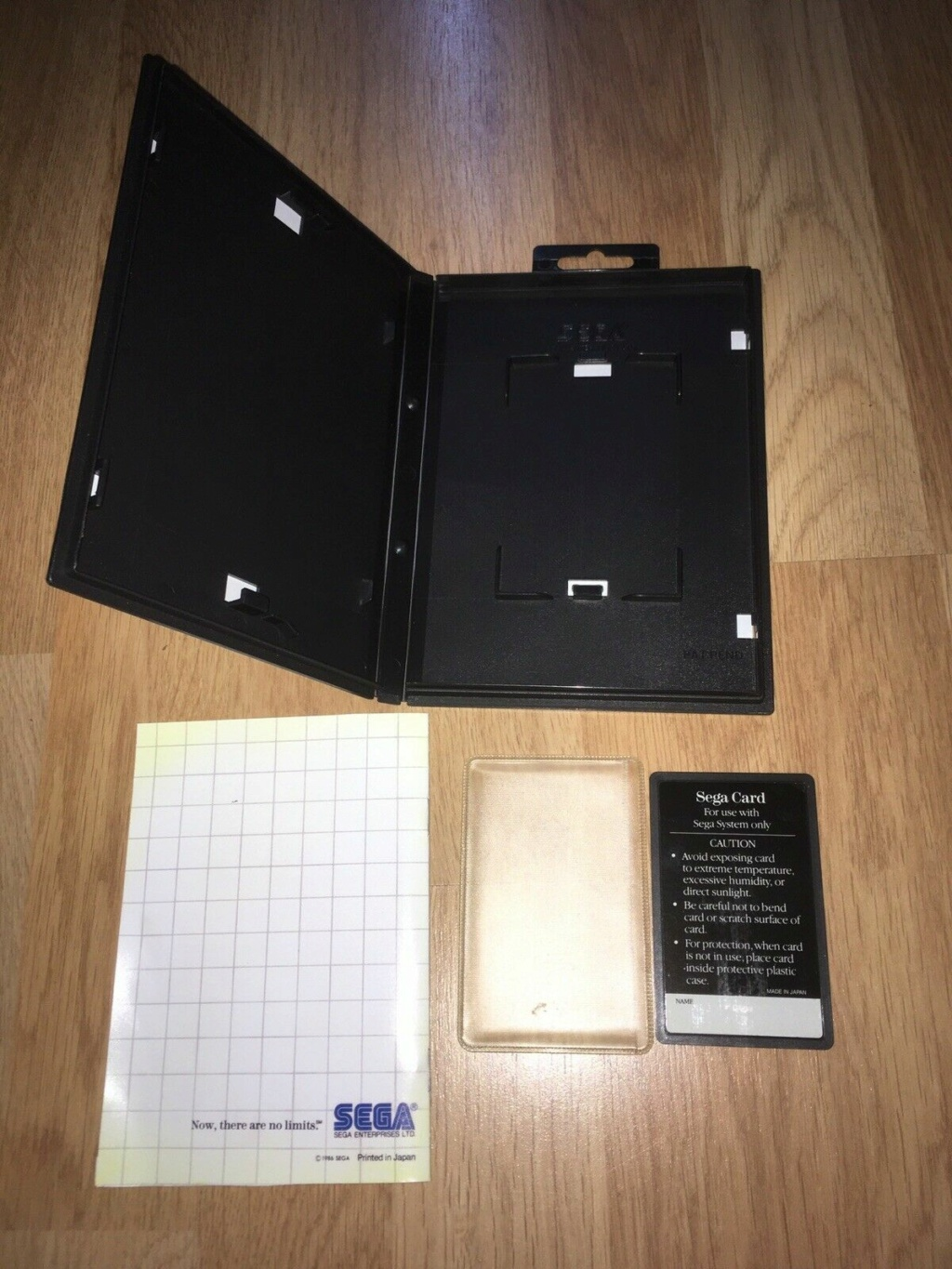 [VDS] HANG-ON The Sega Card Master System complet en boîte et notice 04hang10
