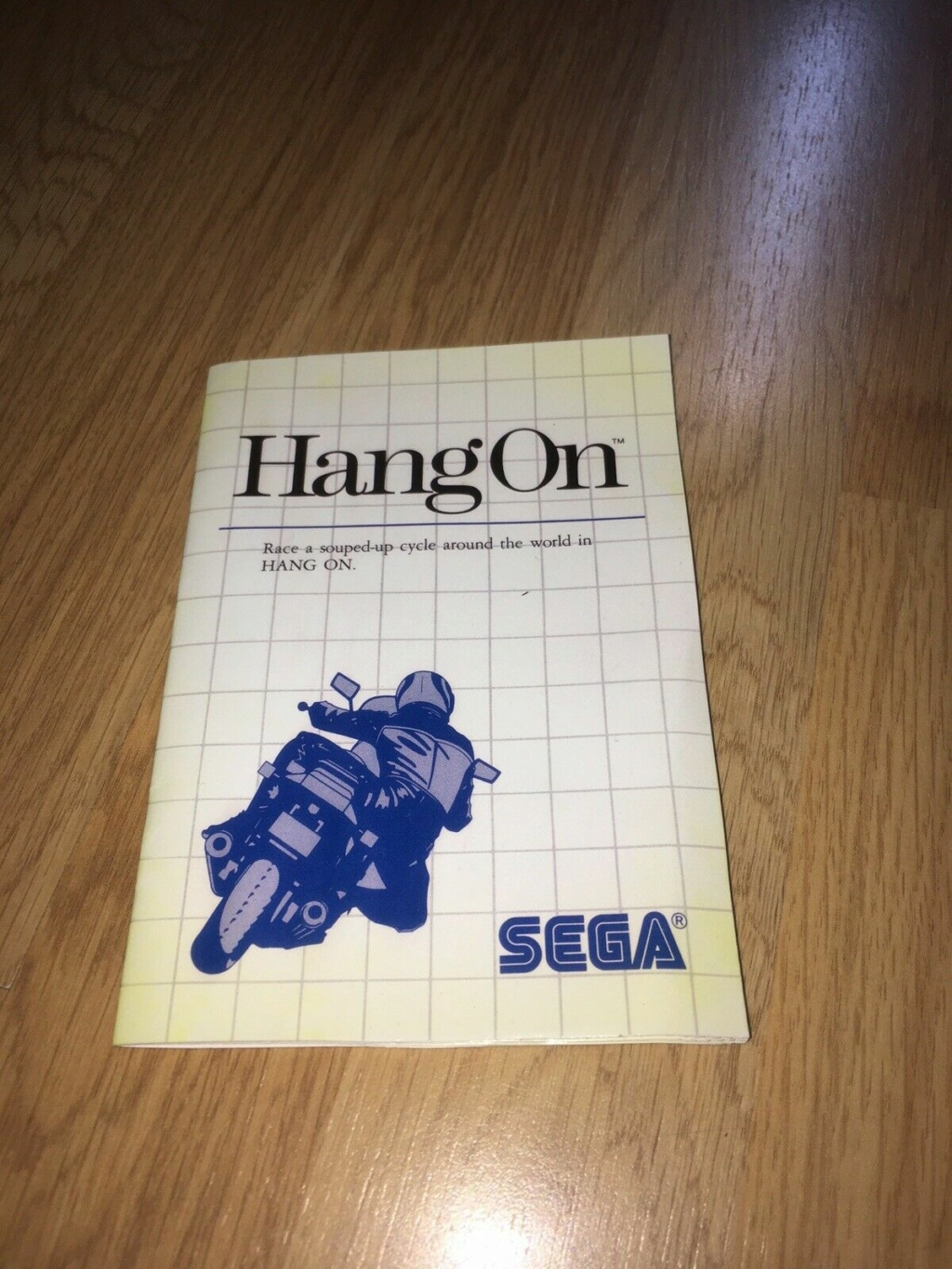 [VDS] HANG-ON The Sega Card Master System complet en boîte et notice 05hang10