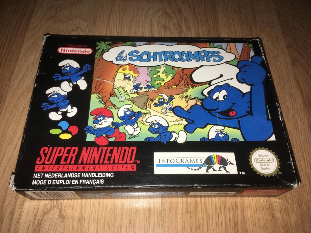 [VDS] Jeux NES / SNES PAL complets dont Les Schtroumpfs avec son poster Les_sc10