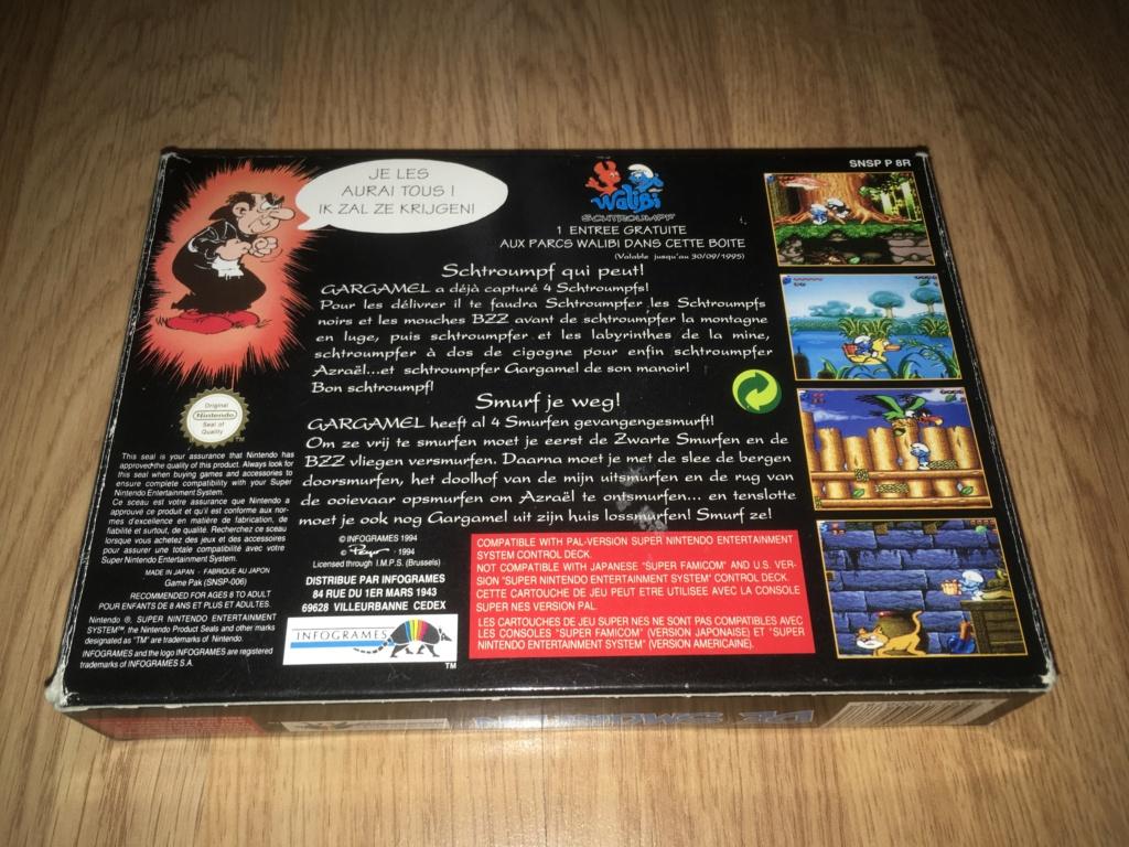 [VDS] Jeux NES / SNES PAL complets dont Les Schtroumpfs avec son poster Les_sc11