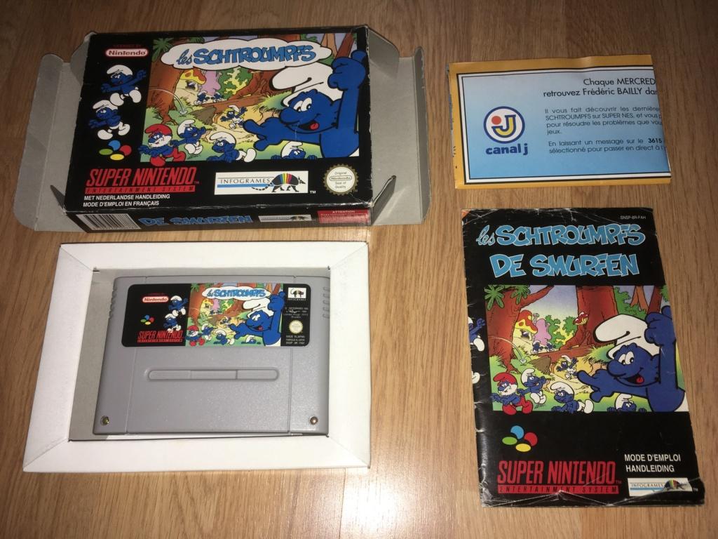 [VDS] Jeux NES / SNES PAL complets dont Les Schtroumpfs avec son poster Les_sc12