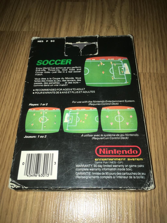 [VDS] Jeux NES / SNES PAL complets dont Les Schtroumpfs avec son poster Soccer11
