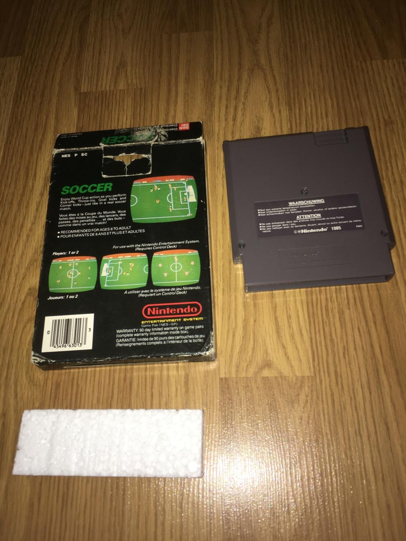 [VDS] Jeux NES / SNES PAL complets dont Les Schtroumpfs avec son poster Soccer13