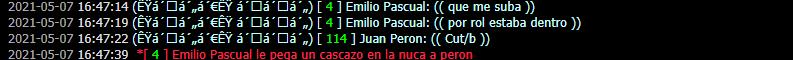 Reporte a Juan Peron DM Car Captur13