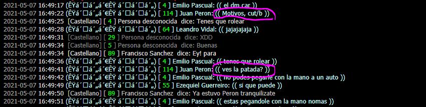 Reporte a Juan Peron DM Car Captur14