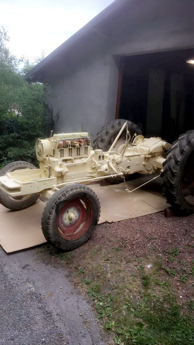Restauration tracteur deutz D5506 75711410