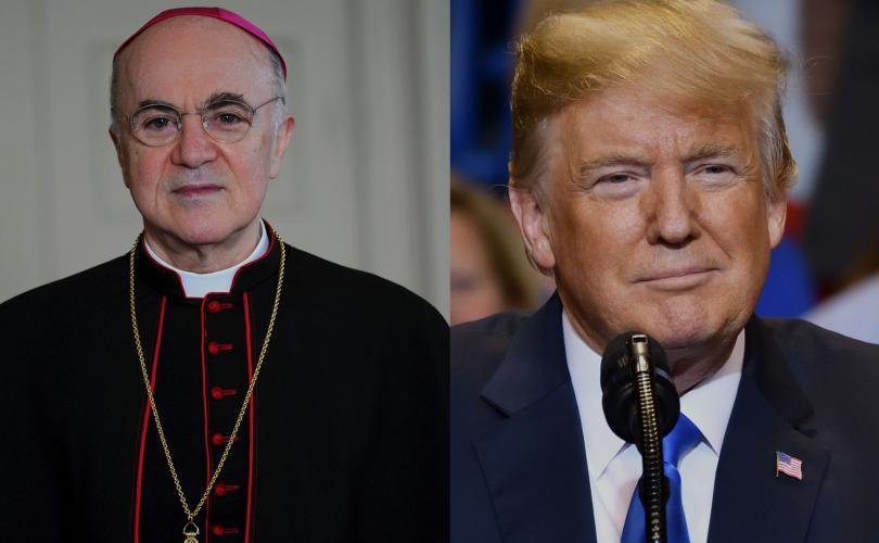 """2020/12/17 Mgr Carlo Maria Viganò écrit à Donald Trump pour lui parler du """"Great Reset"""" Vigano10"""