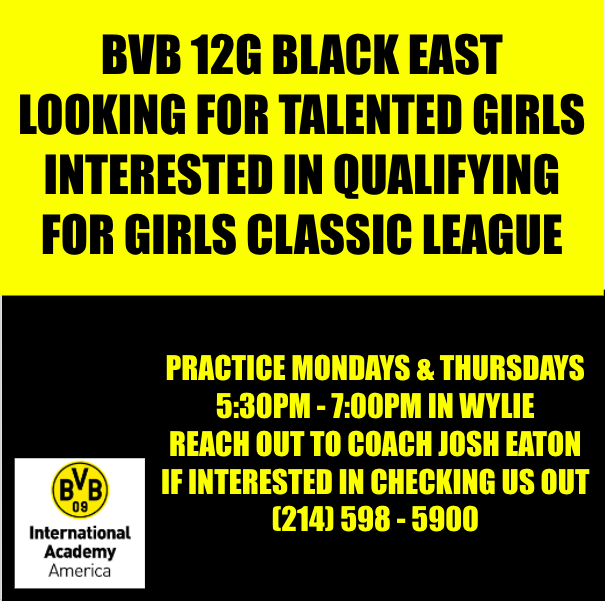 BVB 12G Black East Looking for Talented Players Screen18