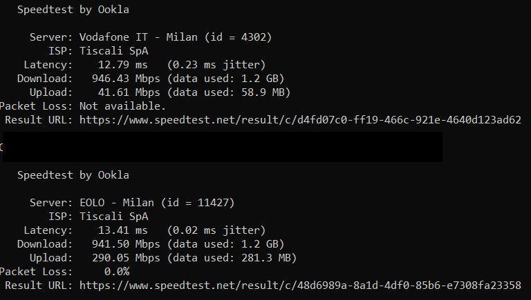 Connessione wifi 7530 e repeater 2400 16146910