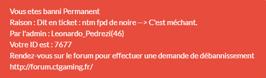 [Acceptée] Demande de débannissement  / Adrien GENET / GTA V  65476911