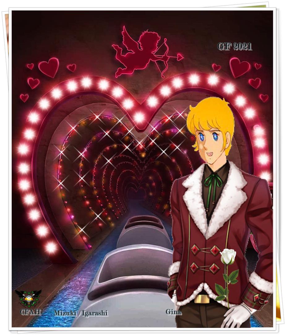 "[♥ Celtic Fairies Corazón Andrew ♥] ANIMALES FANTÁSTICOS -Aporte #3 -Montaje - ""El Paseo del Amor""-Destellos para Anthony  Anthon10"