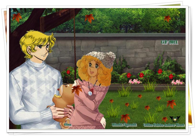 """[♥ Celtic Fairies Corazón Andrew ♥] ANIMALES FANTÁSTICOS -Aporte #8 -Montaje - """"Albert y Candy""""-Destellos para Ambos  Captur10"""