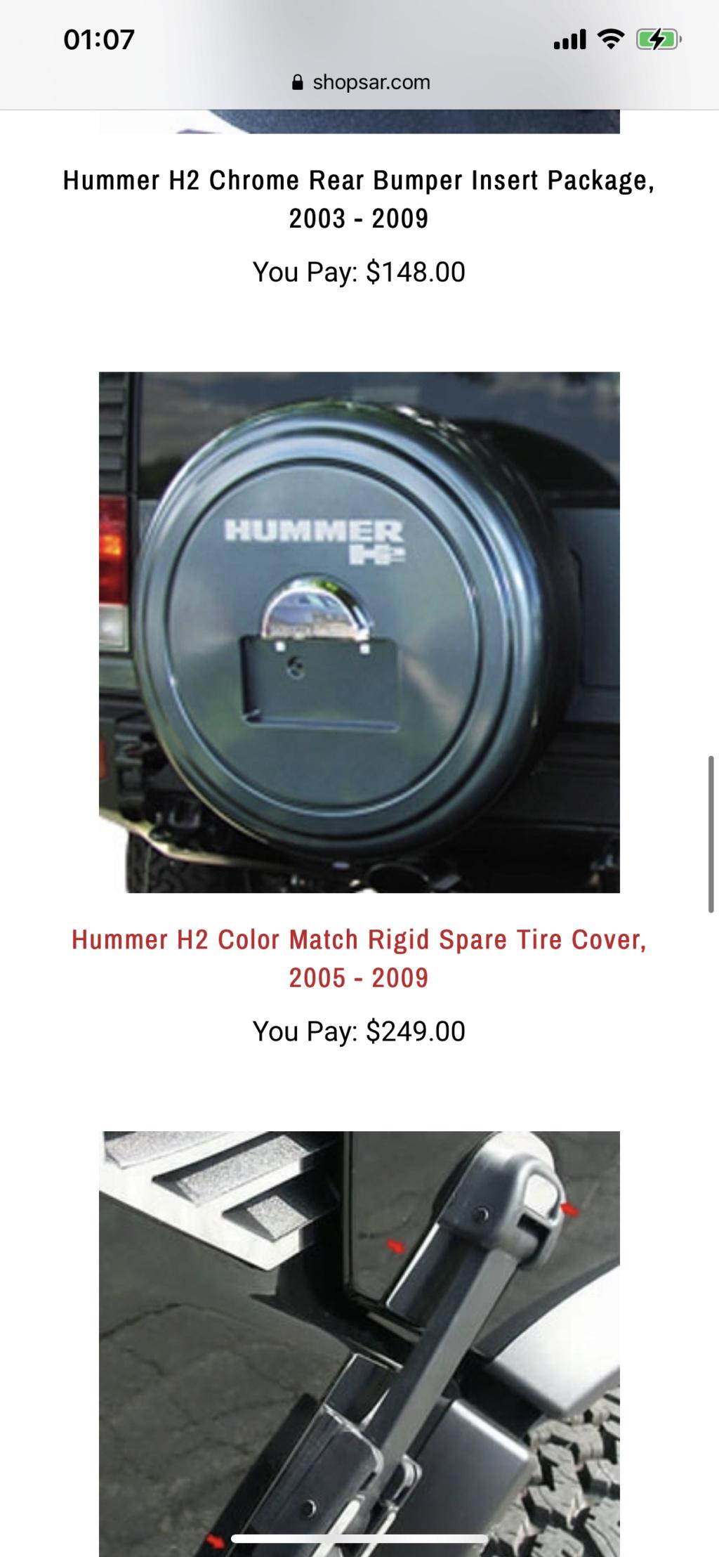 Vous recherchez une pièce pour votre Hummer ? HUMMERBOX s'occupe de vous la trouver ! Contactez nous . - Page 3 1d92ae10