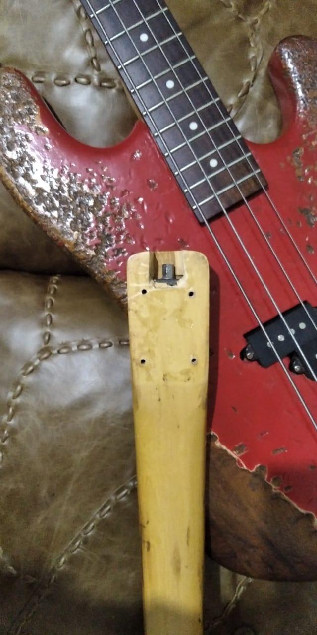 Substituição de braço em Giannini anos 90 Bass211