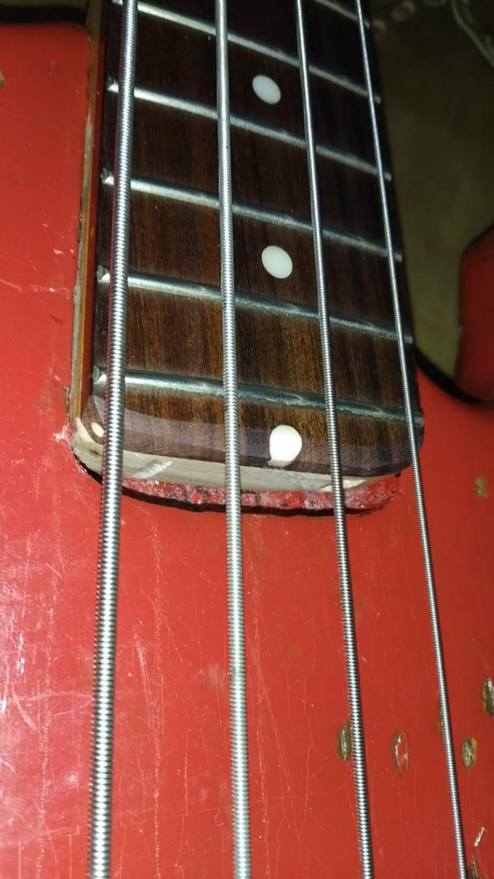 Substituição de braço em Giannini anos 90 Bass310