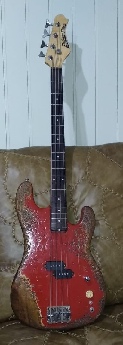 Substituição de braço em Giannini anos 90 Bass410