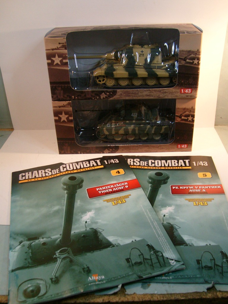 Collection chars de combat WWII au 1/43ème par Altaya S7304643