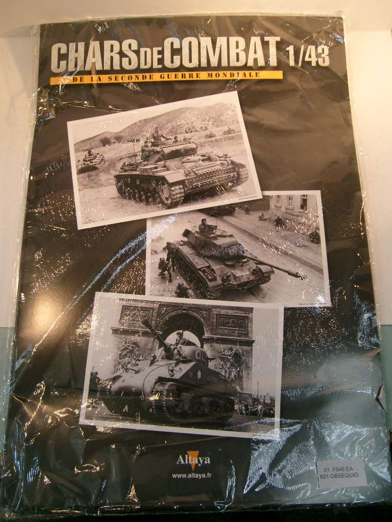 Collection chars de combat WWII au 1/43ème par Altaya S7304652