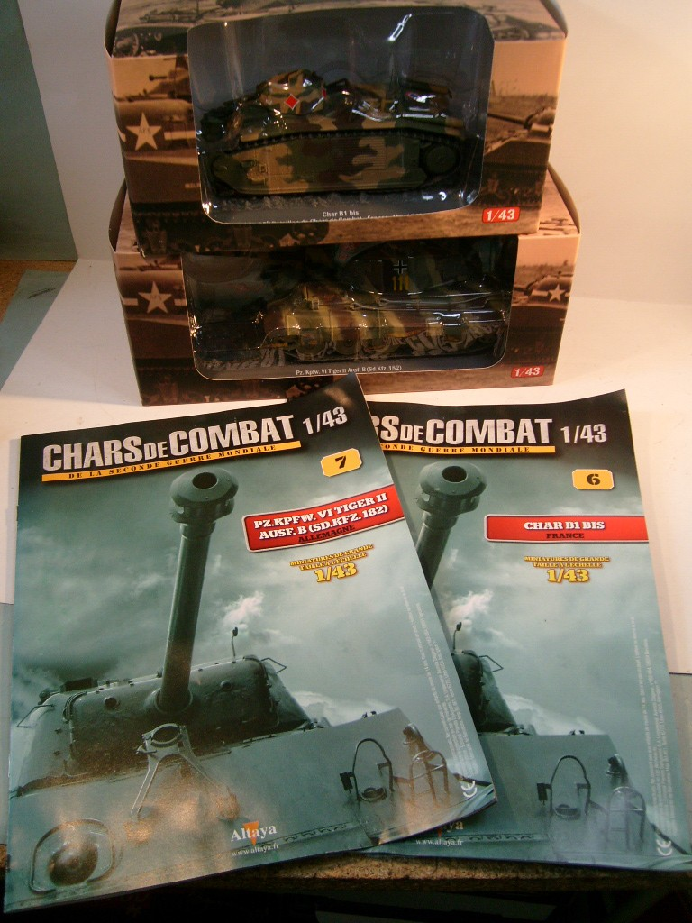 Collection chars de combat WWII au 1/43ème par Altaya S7304917
