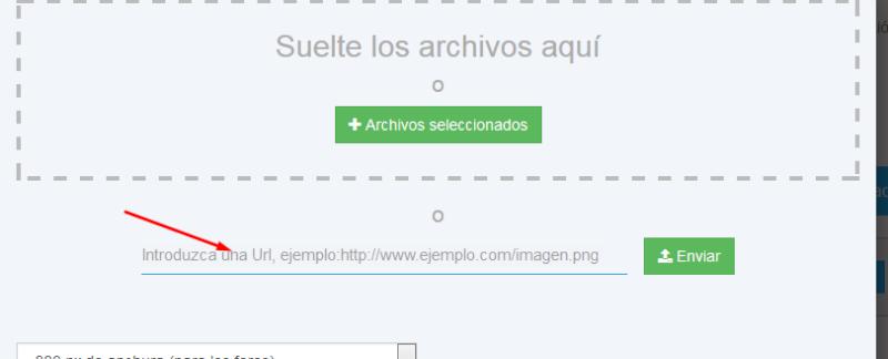 Nuevas opciones servimg para subir imagenes a nuestro servidor Xttd3i10