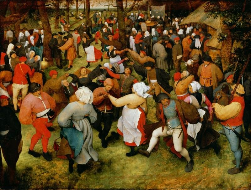 Breughel, Icare, danses paysannes et proverbes Pieter10