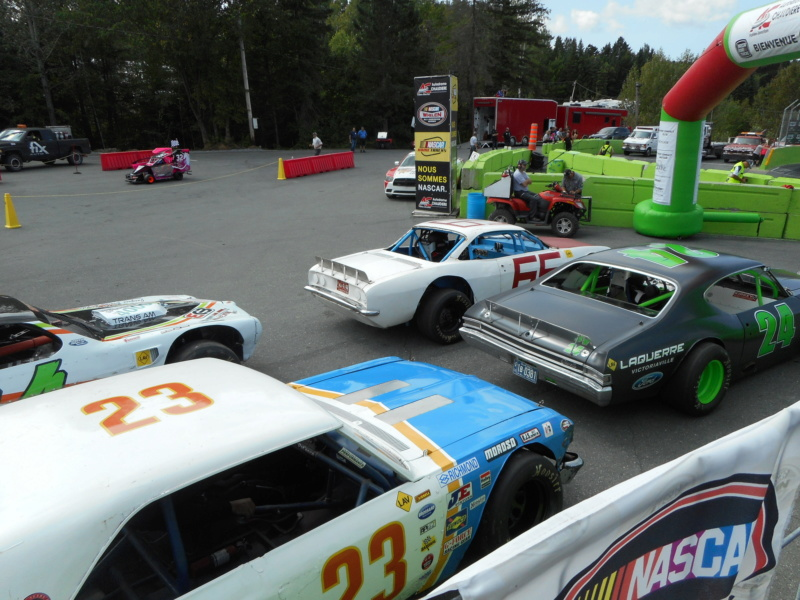 L'ASCVQ devient la division 3 NASCAR à l'Autodrome Chaudière en 2019 18aout17