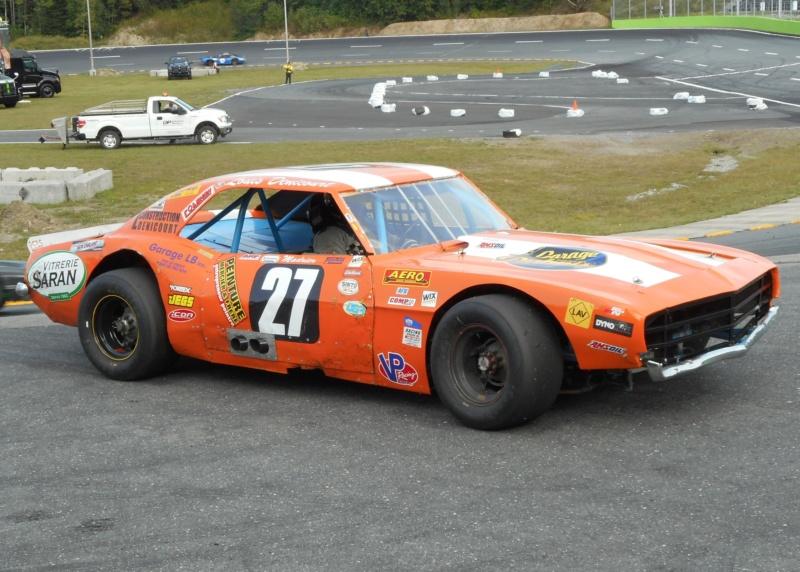Tour de chauffe en NASCAR Vintage avec Louis Denicourt 18aout30