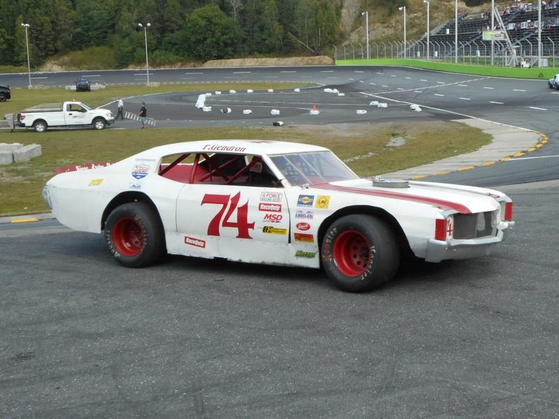 Tour de chauffe en NASCAR Vintage avec Patrick Gendron 18aout33