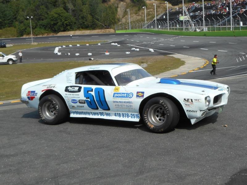 Tour de chauffe en NASCAR Vintage avec Jacques Petitclerc 18aout34