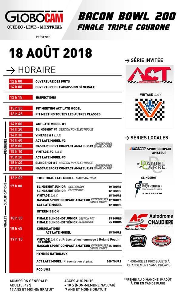 ASCVQ : Renaud Blais de retour en piste !  18hora10
